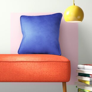Admirable Blue Velvet Throw Pillows Youll Love In 2019 Wayfair Theyellowbook Wood Chair Design Ideas Theyellowbookinfo