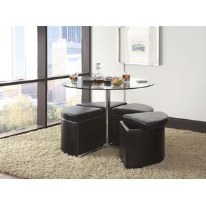 Cosmos Coffee Table with Ottoman (Set of 4) by Standard Furniture