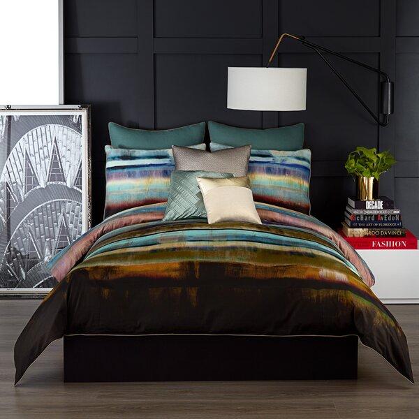 vince camuto lille 220 thread count 100 cotton comforter set u0026 reviews wayfair