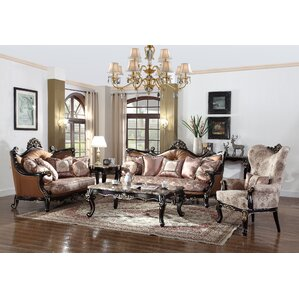 3 Piece Living Room Set by BestMasterFurniture