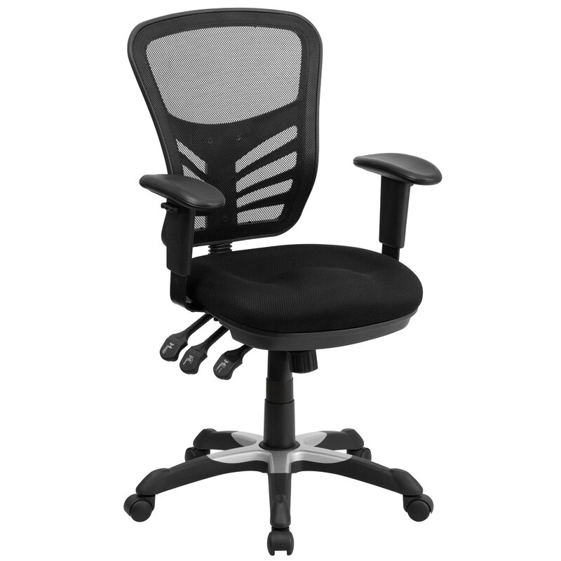 Delightful Dayville Mid Back Mesh Desk Chair