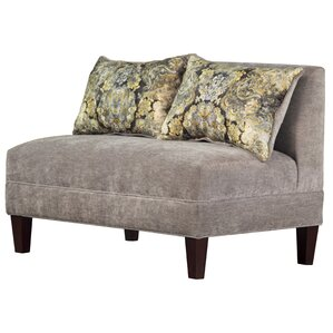 Carolina Accents Briley Tracy Porter Armless Loveseat Image