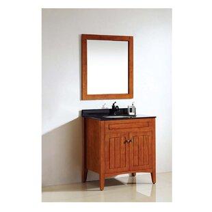 American Solid Wood and Plywood Frame Bathroom / Vanity Mirror