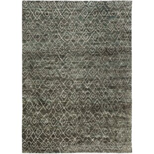 Albert Hand Knotted Forest Olive Area Rug By Williston Forge