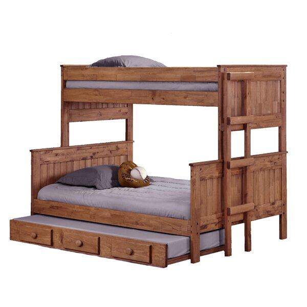 Harriet Bee Choquette Stackable Twin Over Full Bunk Bed