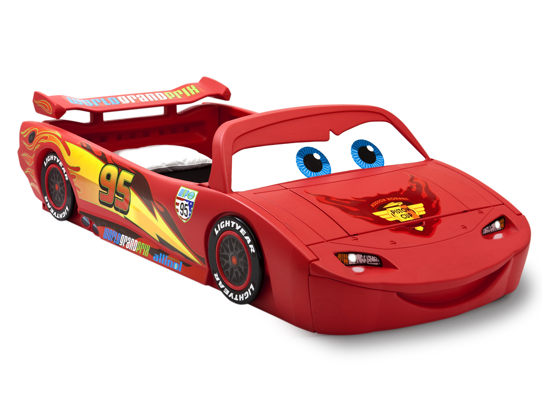 delta children disney pixar cars lightning mcqueen car bed with