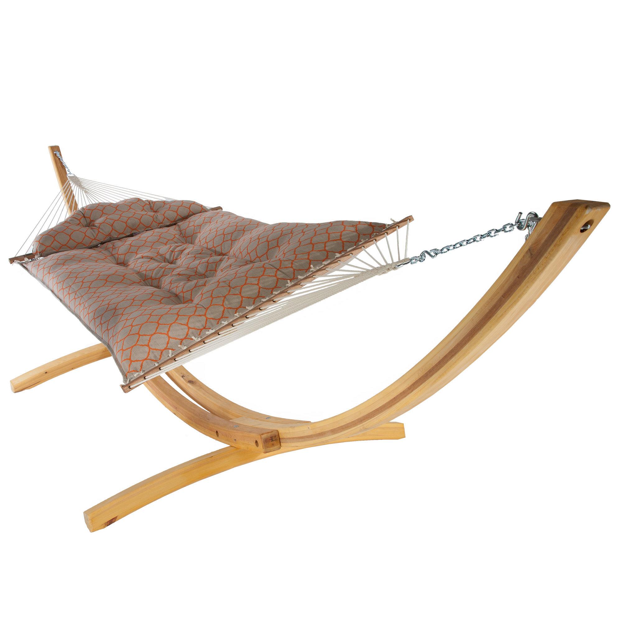 Latitude Run Lackey Large Tufted Sunbrella Hammock | Wayfair