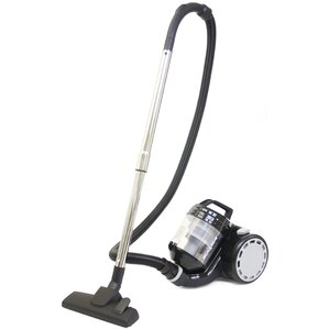 15l bagless canister vacuum cleaner with cyclone technology