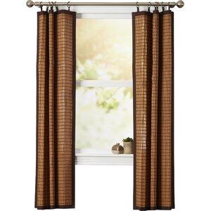Pelico Plaid & Check Blackout Tab Top Single Curtain Panel