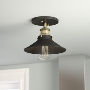 Montreal 1-Light Semi-Flush Mount