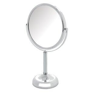 Nice Magnified Tabletop Swivel Vanity Mirror