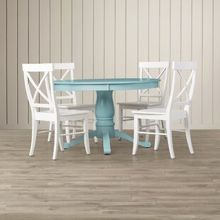Stock Island 5 Piece Solid Wood Dining Set