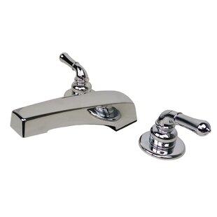 Double Handle Deck Mount Tub Filler Faucet