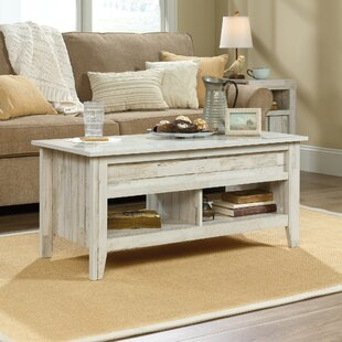 Quickview. Rustic White Wash Coffee Table   Wayfair