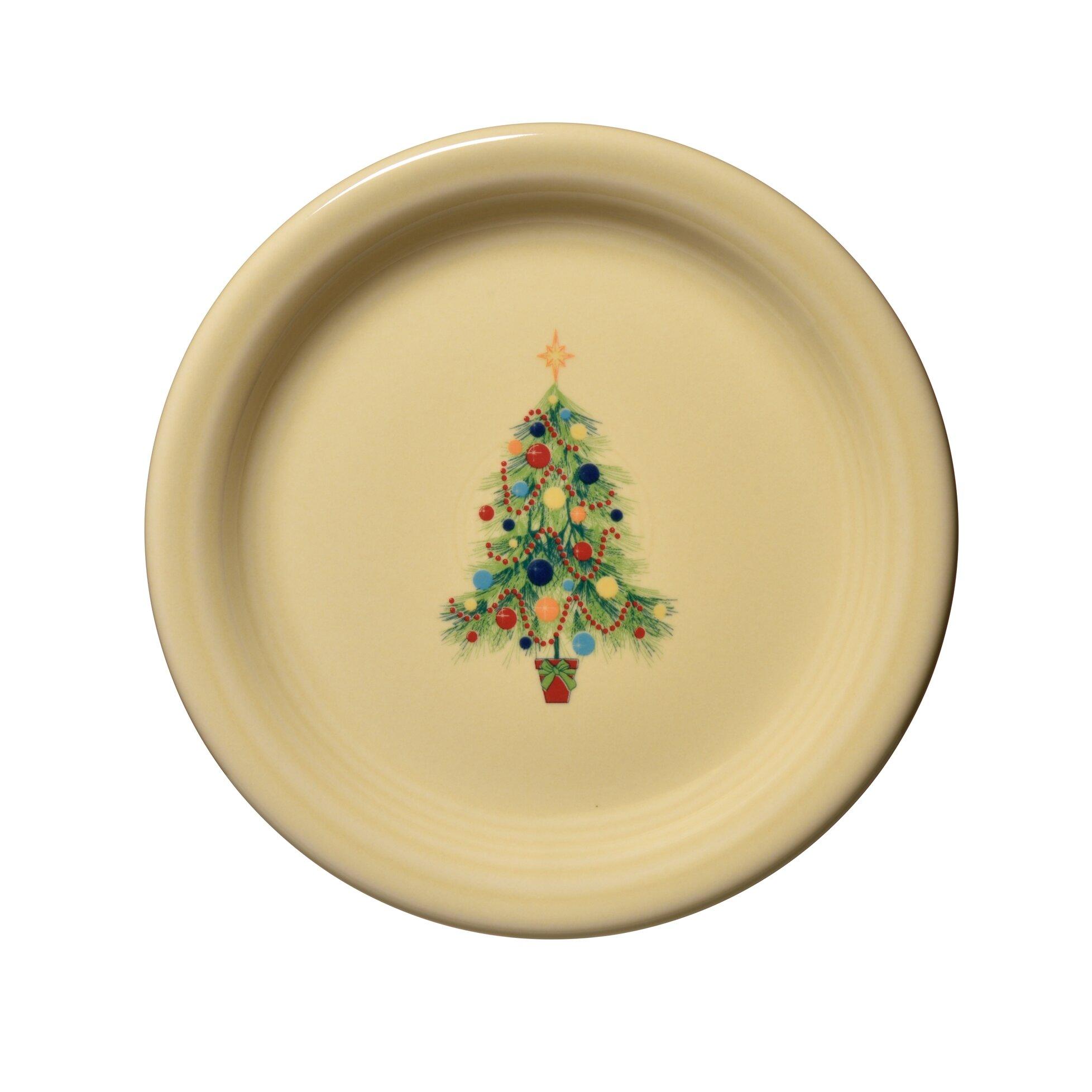 Fiesta Christmas Tree Appetizer Plate & Reviews | Wayfair