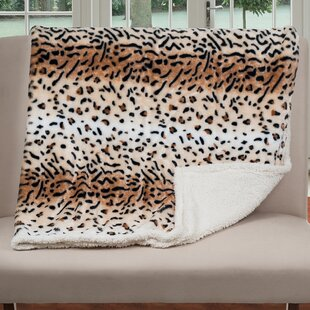 Tiger Print Blanket Wayfair