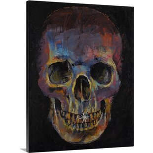 c7cc9f0b762e Skull by Michael Creese Painting Print on Canvas