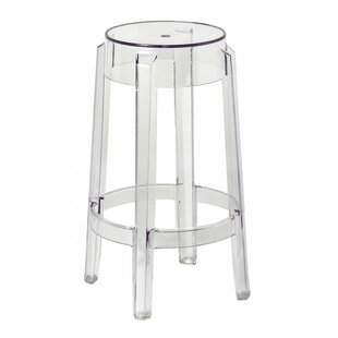 Modern Contemporary Clear Acrylic Ghost Bar Stools Allmodern