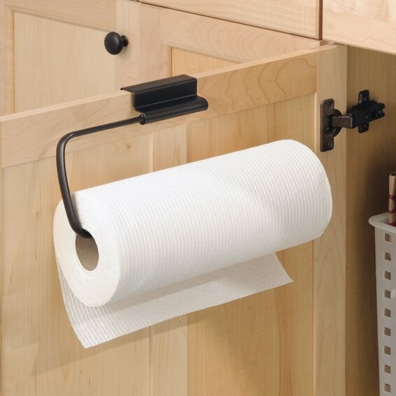 Rebrilliant Eilerman Over The Cabinet Paper Towel Holder Reviews Wayfair