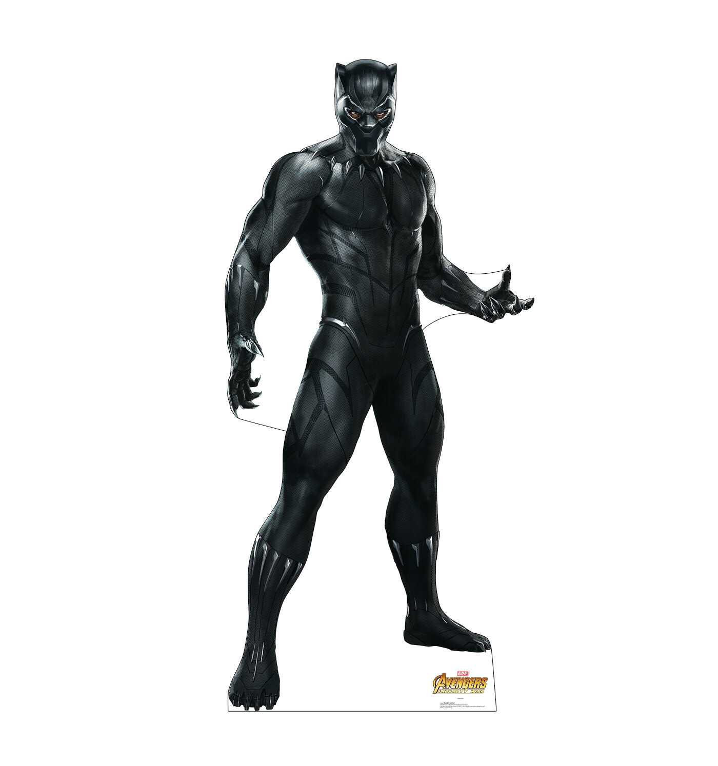 Advanced Graphics Avengers Infinity War Black Panther Standup | Wayfair