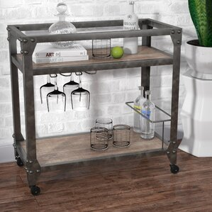 Wiley Bar Cart by Trent Austin Design