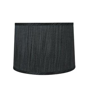 Grey drum shade wayfair 12 fabric drum lamp shade aloadofball Image collections