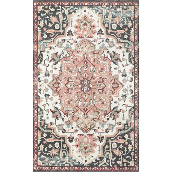 Dario Vintage Blush Pink Cream Area Rug Amp Reviews Joss