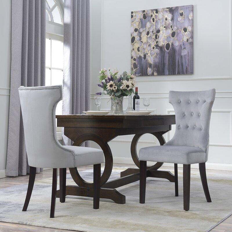 belleze premium parson chair & reviews   wayfair
