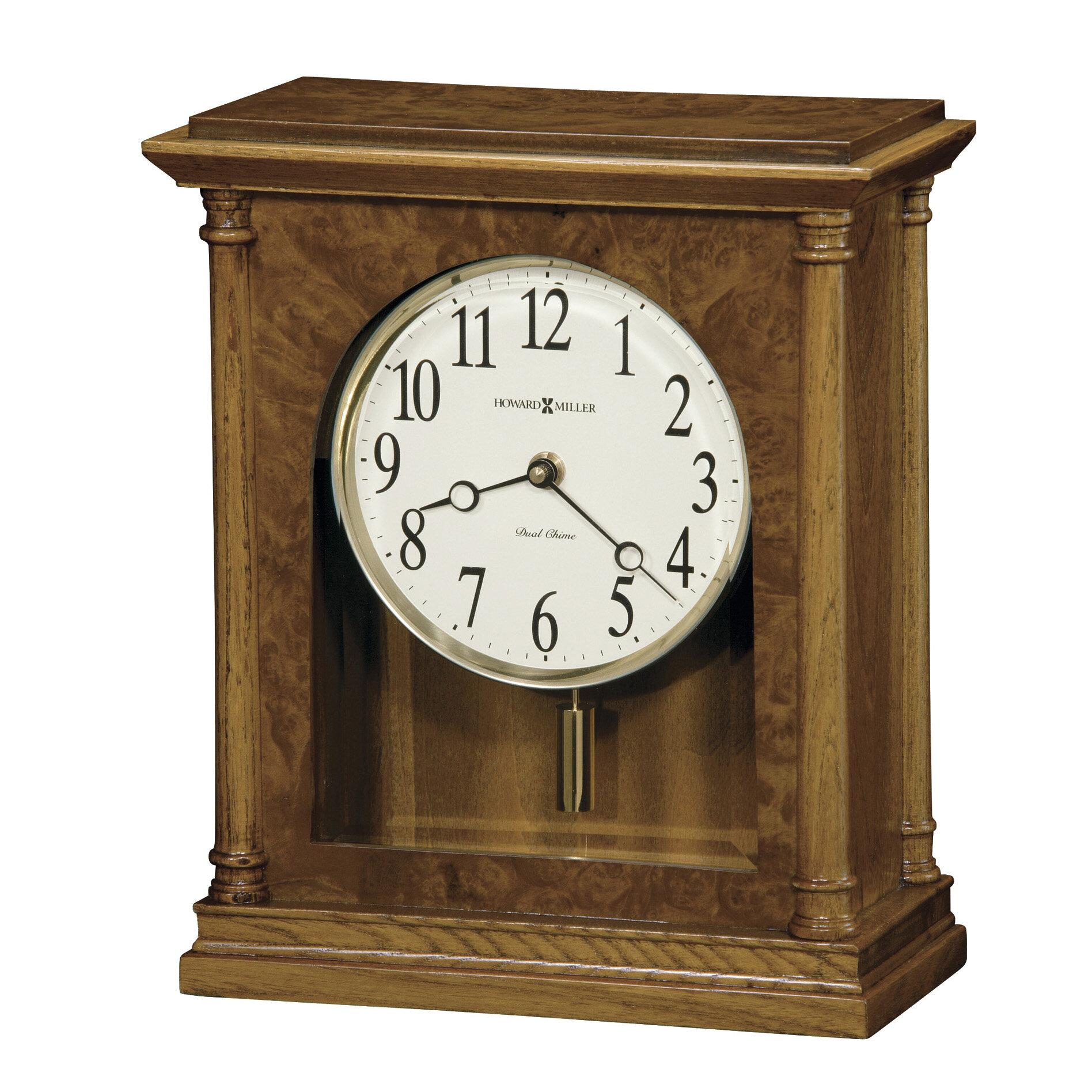 Howard Miller Carly Chiming Quartz Mantel Clock Perigold
