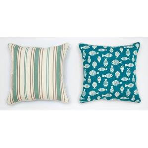 Cabana Life Luxe Seamist Throw Pillow