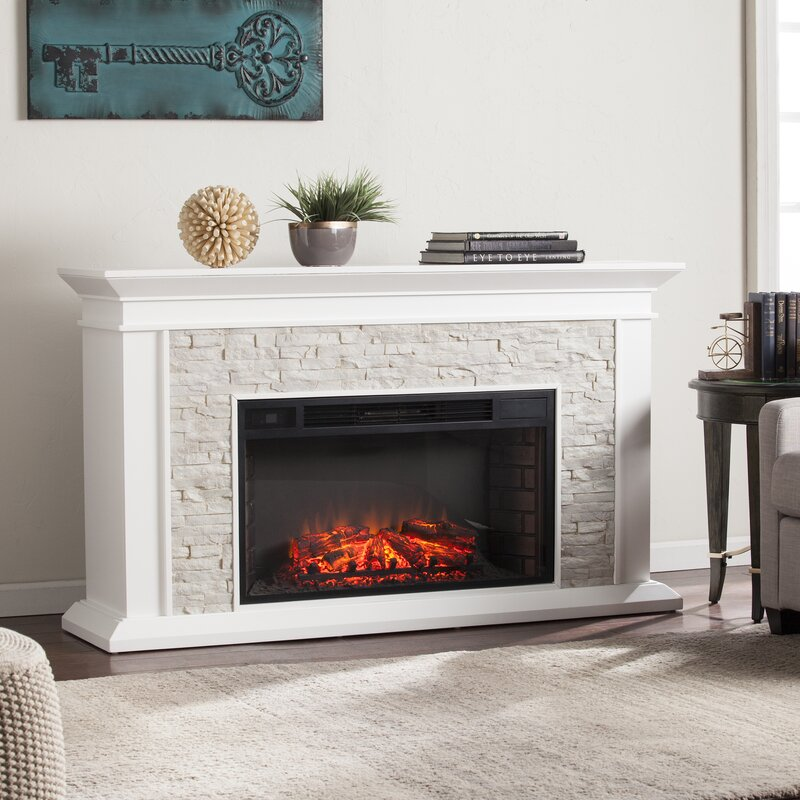Darby Home Co Simulated Electric Fireplace Reviews