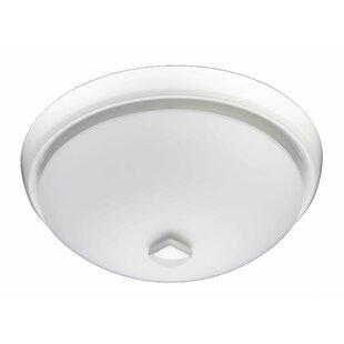 Bathroom fans youll love wayfair 80 cfm energy star bathroom fan with light aloadofball Gallery