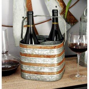 Corum 4 Bottle Tabletop Wine Rack