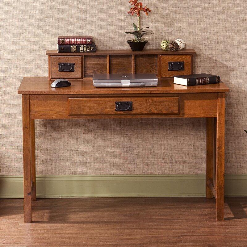 Wildon Home 174 Writing Desk With Hutch Amp Reviews Wayfair