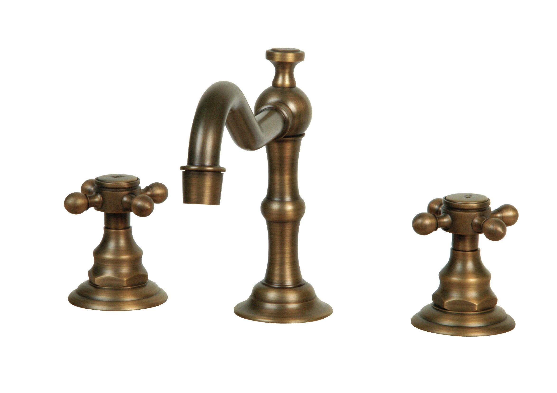 Legion Furniture Widespread Faucet with Double Cross Handles ...