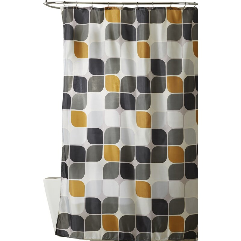 Wade Logan Morales Extra Long Shower Curtain & Reviews | Wayfair