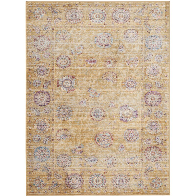 Coven Gold Area Rug