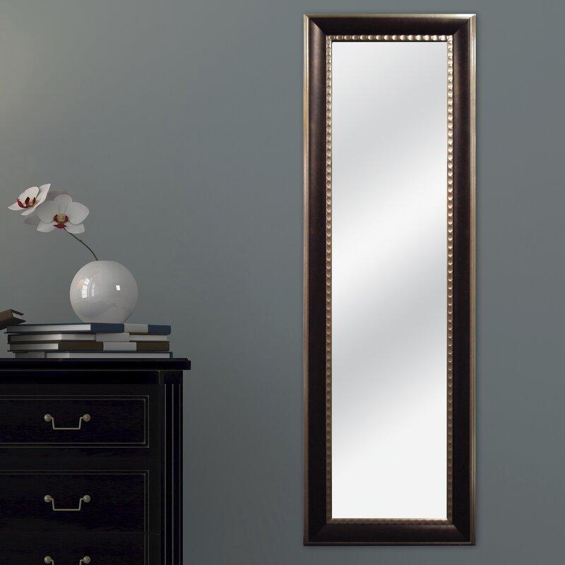 Mcsindustries Two Tone Full Length Mirror Amp Reviews Wayfair