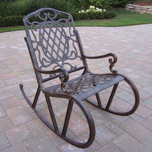 Metal Patio Rocking Chairs Youu0027ll Love | Wayfair