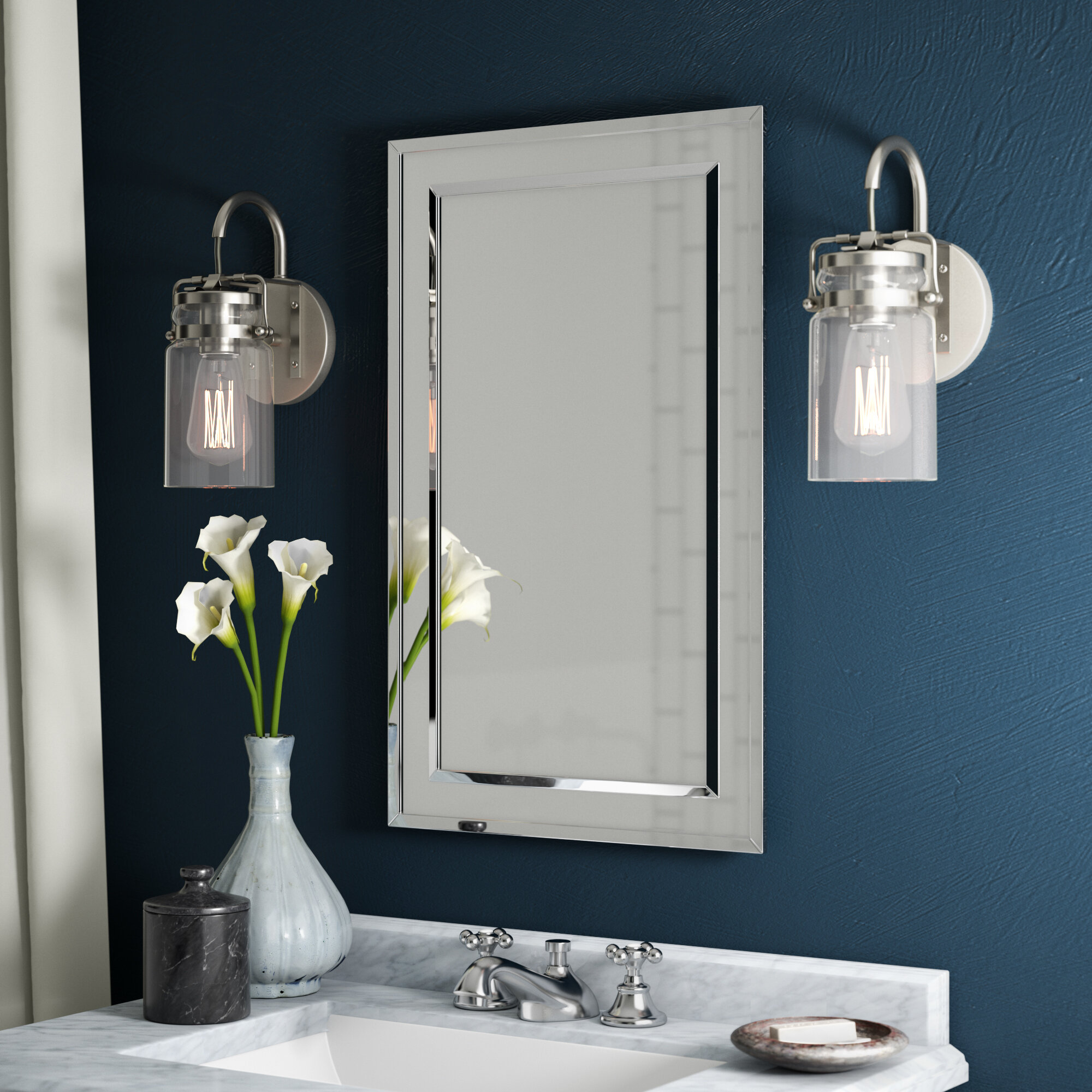 Enjoyable Graford 16 X 26 Recessed Medicine Cabinet With 2 Adjustable Shelves Download Free Architecture Designs Pendunizatbritishbridgeorg