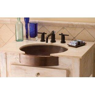 Hammered Copper Bathroom Sink Wayfair