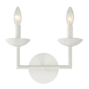 Candle sconces youll love wayfair athenais 2 light candle wall light mozeypictures Images