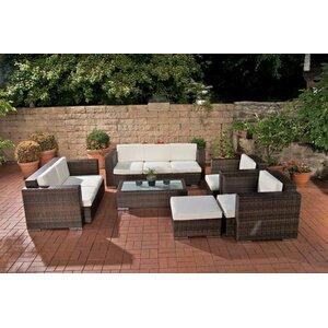 6-tlg. Sitzgruppen-Set Provence mit Kissen von Home & Haus