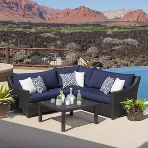 Northridge 4 Piece Sectional Set with Cushions