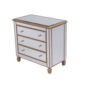 Emerita 3 Drawer Accent Chest