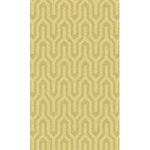 Burchfield Gold Geometric Rug