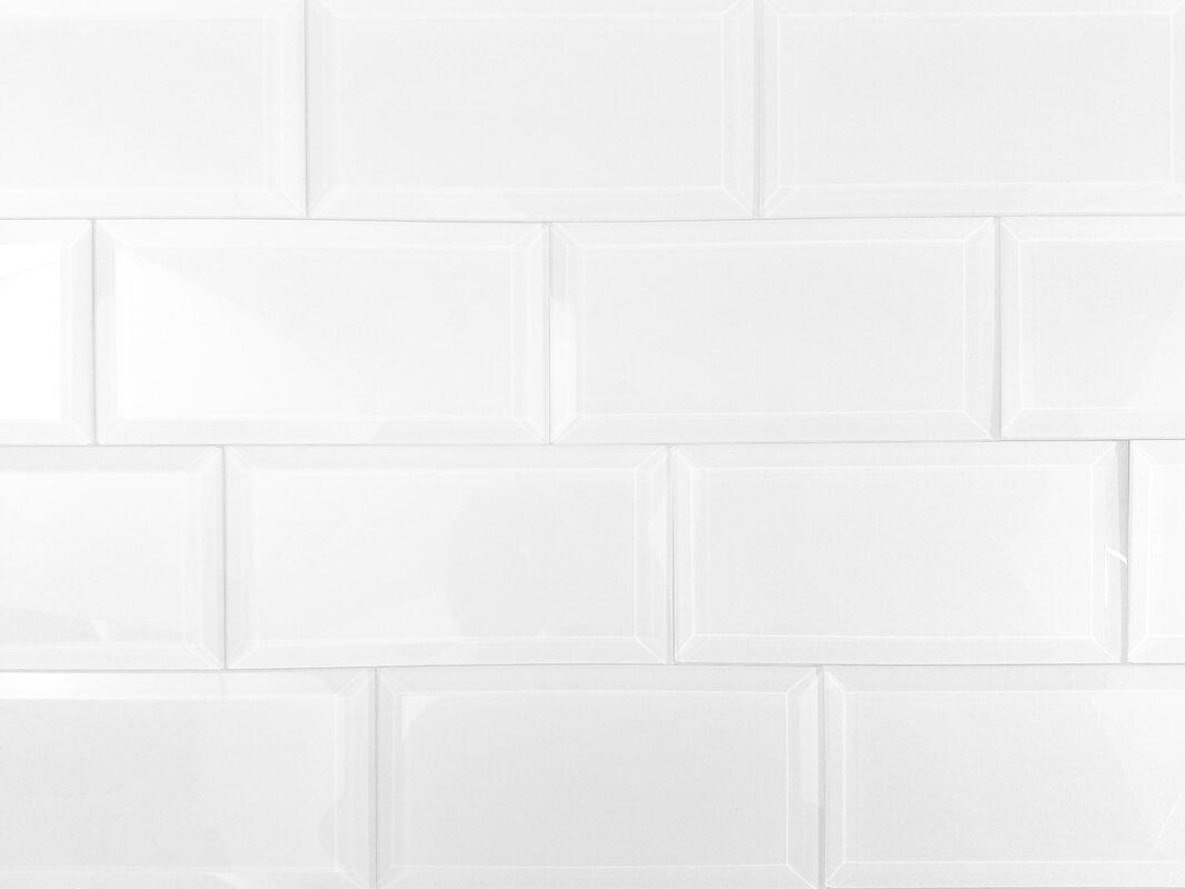 3x8 Clear White Glass Subway Tile Free Photos