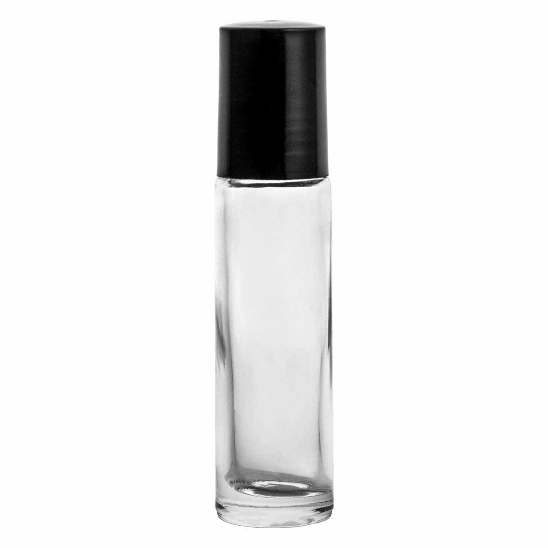 53e3c32346a2 Rishikesh Essential Oil Roller Bottles | 10ml Clear Glass Roll-on Bottles |  Pack of 36 | Rust-Resistant Stainless Steel Roller Balls |Durable Roller ...