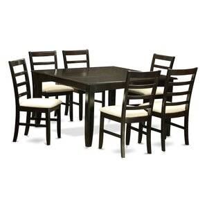 Parfait 7 Piece Dining Set by Wooden Importers