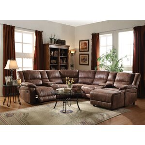 Marcellus Reclining Sectional by Charlton Home